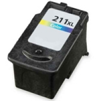 Canon 2975B001 (CL-211XL) Remanufactured High Yield Ink Cartridge - Tri-Color