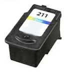 Canon 2976B001 (CL-211) Remanufactured Ink Cartridge - Tri-Color