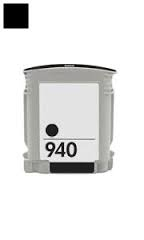 HP C4902AN (HP 940) Remanufactured Ink Cartridge - Black