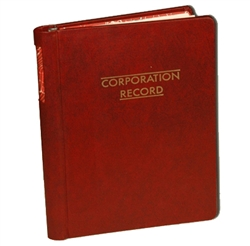 "Citizen ""Corporate Records"" Company 3-Ring Binder"