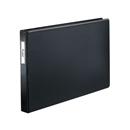"Premier Easy Open® 11"" X 17"", Locking Slant-D® Ring Binder, 1"", Black"