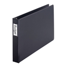 "Premier Easy Open® 11"" X 17"", Locking Slant-D® Ring Binder, 1.5"", Black"