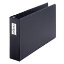 "Premier Easy Open® 11"" X 17"", Locking Slant-D® Ring Binder, 3"", Black"