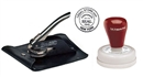 Corporate Embossing Seal, Pouch and Seal Highlighter Combo