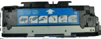 HP Q2681A Remanufactured Toner Cartridge - Cyan