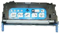 HP Q6471A / 2577B001AA Remanufactured Toner Cartridge - Cyan