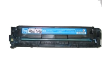 HP CB541A / 1979B001AA Remanufactured Toner Cartridge - Cyan