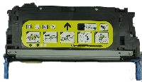 HP Q7582A / 1657B001AA Remanufactured Toner Cartridge - Yellow