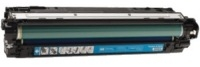 HP CE741A Remanufactured Toner Cartridge - Cyan