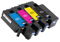 Dell 1250 Color Series C1760 High Yield Black Toner Cartridge  Remanufactured High Yield Ink Cartridge
