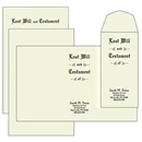 Will Kit, Legal Size, Testament Ledger