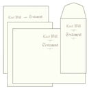 Will Kit, Letter Size, Testament LedgerWill Kit, Letter Size, Testament Ledger