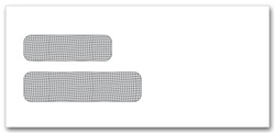 Double Security Window Envelope, Self-Seal