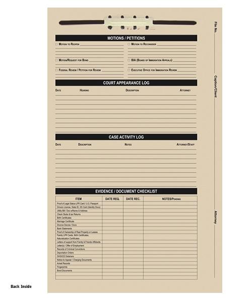 Immigration Case File