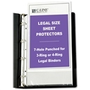 "Top Loading Legal Size Sheet Protector 8.5"" x 14"""