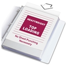 "Top Loading Letter Size Sheet Protector 8.5"" x 11"""