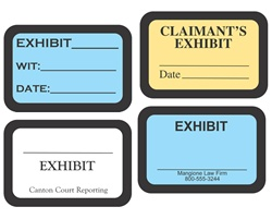 Custom Printed Exhibit Labels