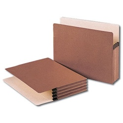Letter Size Redrope Expansion File Pockets