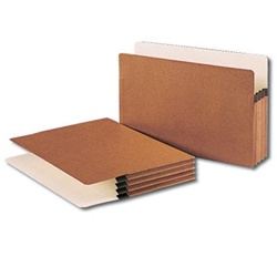 Legal Size Redrope File Expansion Pockets