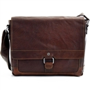 Voyager Leather Messenger Bag