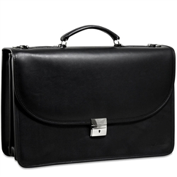 Platinum Special Edition Classic Leather Briefcase