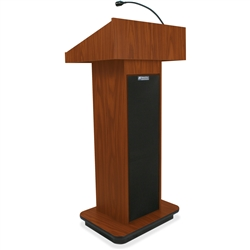 AmpliVox Executive Sound Column Lectern