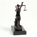 8 inch Lady of Justice Statue