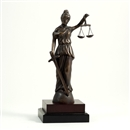 13 inch Lady of Justice Statue