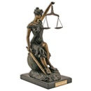 Sitting Lady of Justice Limited Edition