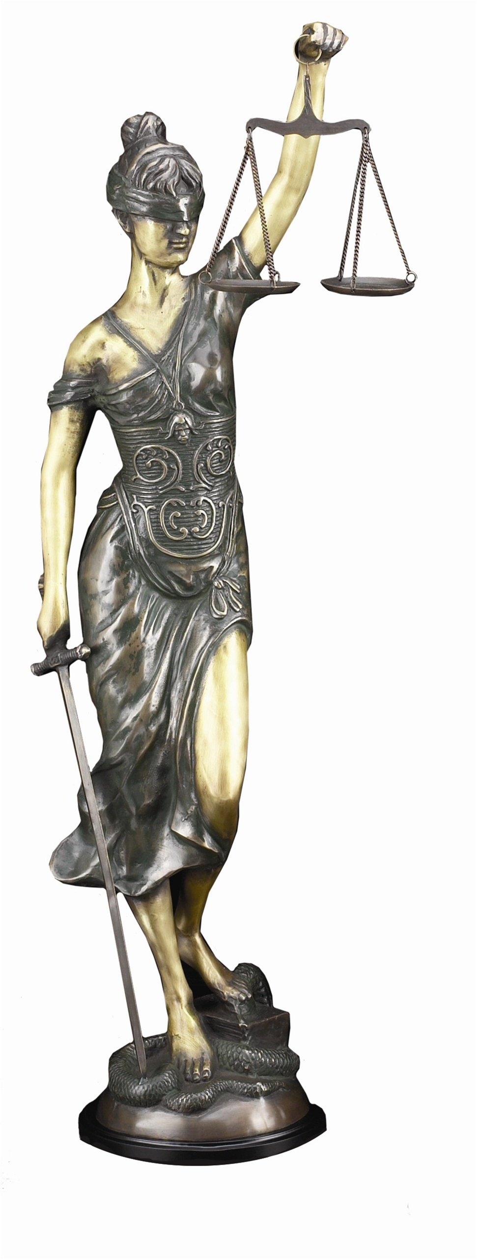 The gallery for --> Blind Lady Justice Painting