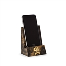 "Legal Scale, ""Tiger Eye"" Marble Desktop Phone / Tablet Cradle"