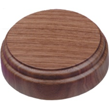 "American Walnut 4"" Round Sound Block"