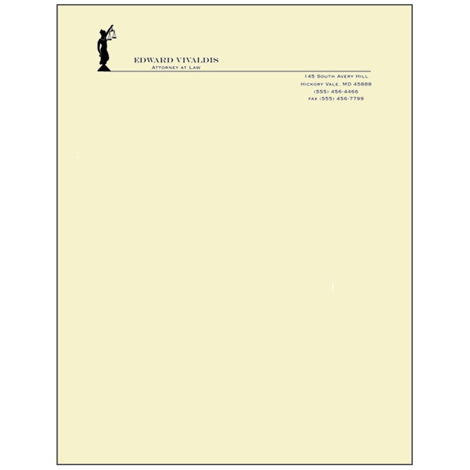 strathmore writing engraved letterhead