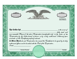Eagle C Standard Wording Certificates
