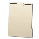 File Backers Heavy Duty 1/3 Cut Tabs, Letter Size with Fasteners