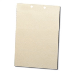 File Backers Heavy Duty Straight Cut, Letter Size 2-Hole Punched