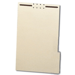 File Backers Heavy Duty 1/3 Cut Tabs, Legal Size with Fasteners
