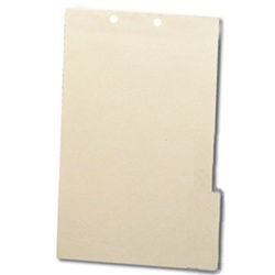File Backers 1/3 Cut Tabs, Legal Size 2-Hole Punched