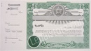 Goes® Oklahoma Stock Certificates