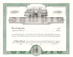 Goes® Global Vignette Share Text Stock Certificates, 100 pack