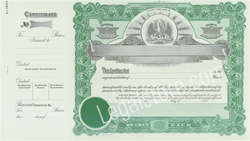 Goes® Louisiana Stock Certificates