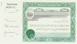 Goes® North Carolina Stock Certificates