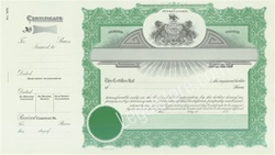 Goes® Pennsylvania Stock Certificates