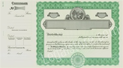Goes® Ohio Stock Certificates