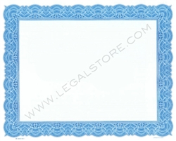 Goes® Common Blank Stock Certificates