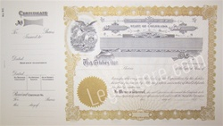 Goes® Colorado Stock Certificates