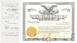 Goes® Legal Size Eagle Certificate Capital Text, Package of 100
