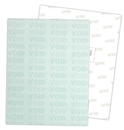 "Security Paper, Letter Size, Text Weight, 8.5"" x 11"", 60# Offset, Green ""Void"""