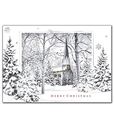 A Closer Look Christmas Holiday Greeting Cards