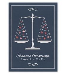 From The Firm Attorney Legal Holiday Greeting Cards